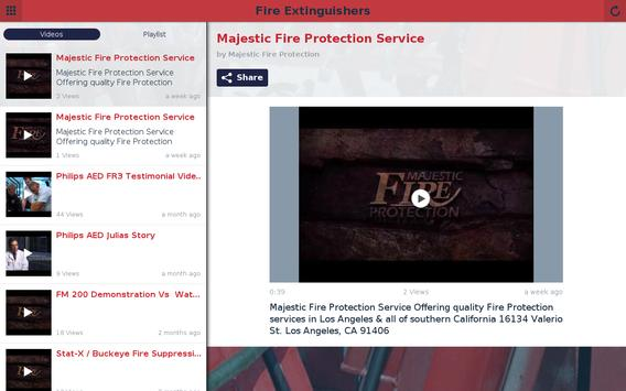 Majestic Fire Extinguishers apk screenshot