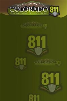 Colorado 811 poster