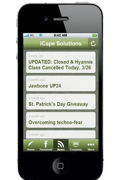 iCape Solutions apk screenshot