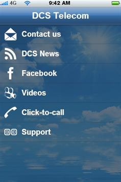 DCS Telecom App apk screenshot