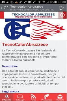 Tecnocalor Abruzzese apk screenshot
