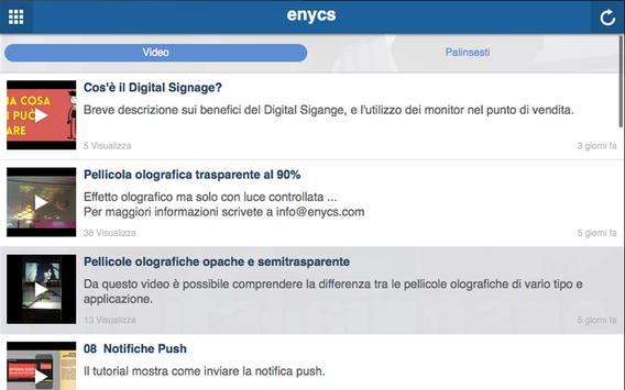 ENYCS - engage your customers apk screenshot