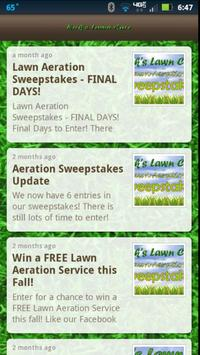 Kirks Lawn Care apk screenshot
