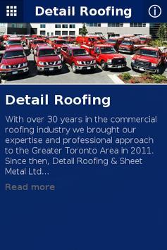 Detail Roofing apk screenshot