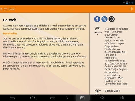 UC-WEB apk screenshot
