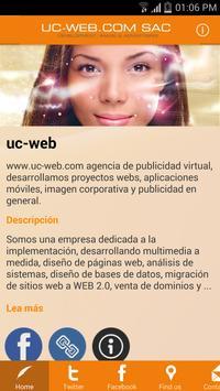 UC-WEB poster