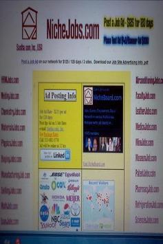 NicheJobs.com Jobs apk screenshot
