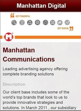Manhattan Digital Agency App poster