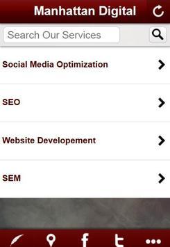 Manhattan Digital Agency App apk screenshot