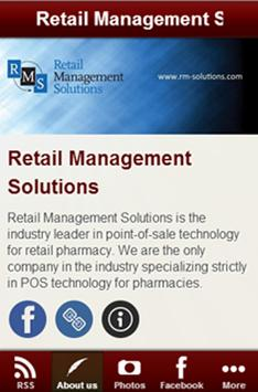 Retail Management Solutions poster