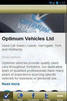 Optimum Vehicles Ltd poster