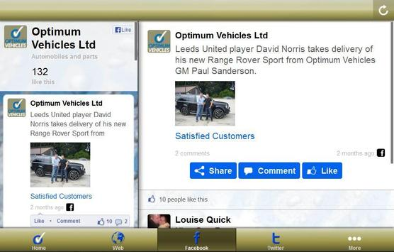 Optimum Vehicles Ltd apk screenshot