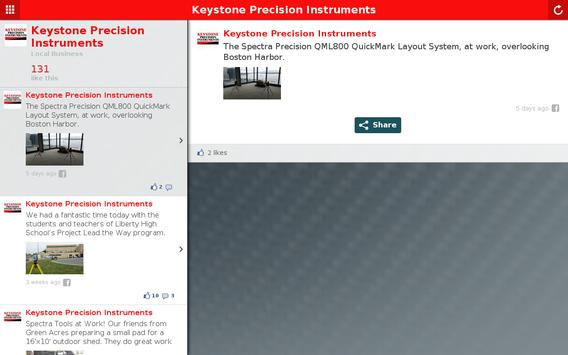 Keystone Precision Instruments apk screenshot