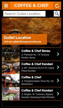 COFFEE & CHEF apk screenshot