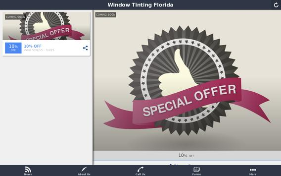 Window Tinting Florida poster