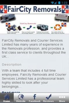 FairCity Removals poster