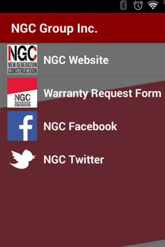 NGC Group Inc. poster
