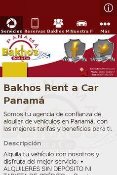Bakhos Rent a Car Panamá poster