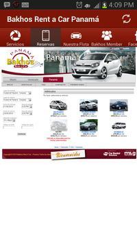 Bakhos Rent a Car Panamá apk screenshot