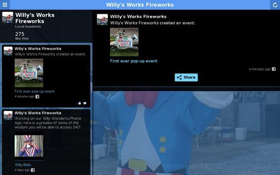 Willy's Works Fireworks apk screenshot