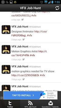 VFX Job Hunt poster