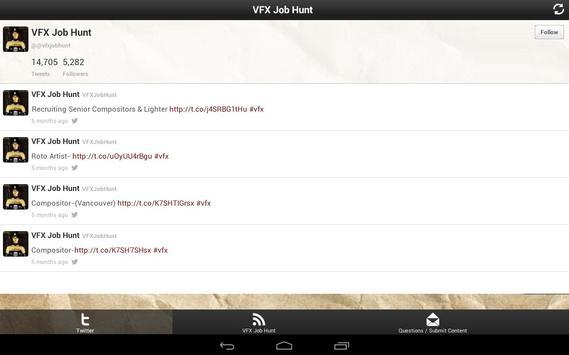 VFX Job Hunt apk screenshot