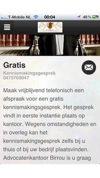 Birrou Advocatenkaantoor Roerm apk screenshot