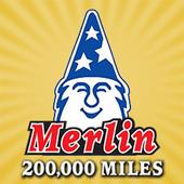 Merlin 200,000 Mile Shops icon