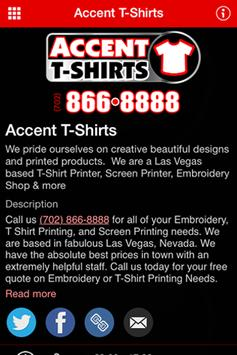 Accent T-Shirts poster