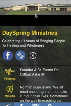 DaySpring Ministries poster