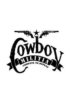 Cowboy Militia poster