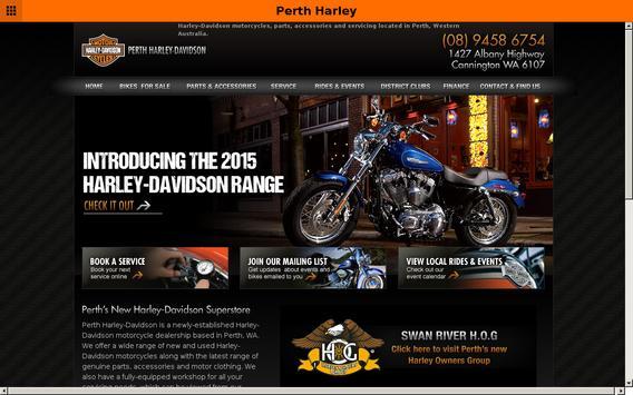 Perth Harley-Davidson apk screenshot