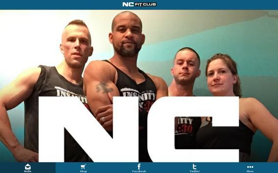 NC Fit Club poster