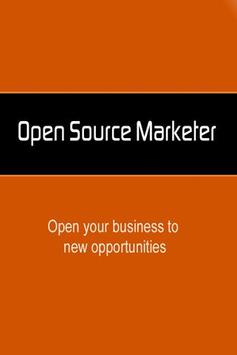 Open Source Marketer poster