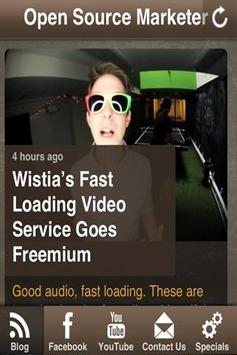 Open Source Marketer apk screenshot