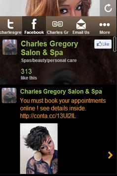 Charles Gregory Salon poster