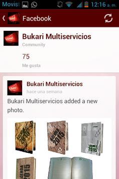 Bukari Multiservicios App apk screenshot