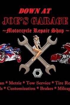 Down at Joe's Garage poster
