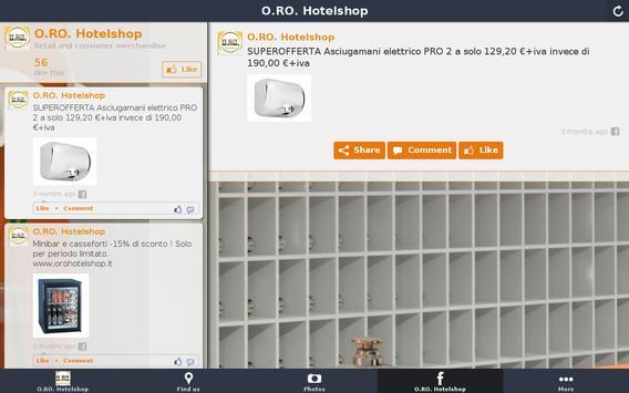 O.RO. Hotelshop apk screenshot