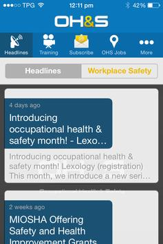 Occupational Health and Safety apk screenshot