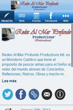 Redes Al Mar Profundo Prod. Co apk screenshot