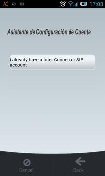 Telefonía INTER CONNECTOR apk screenshot