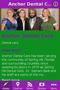 Anchor Dental Care poster