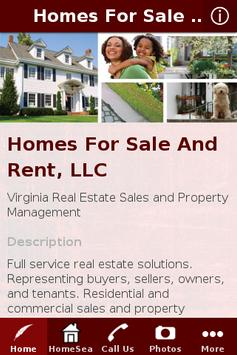 Homes For Sale And Rent, LLC poster