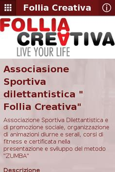 Follia Creativa poster