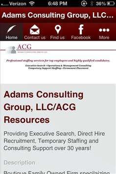Adams Consulting Group, LLC/ apk screenshot