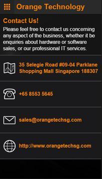Orange Technology Singapore apk screenshot