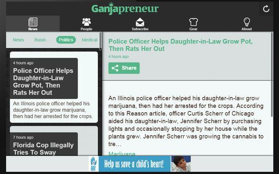 Ganjapreneur apk screenshot