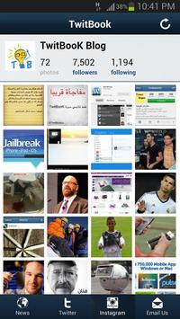 Twitbook apk screenshot