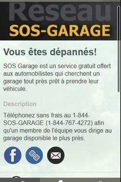 SOS Garage poster